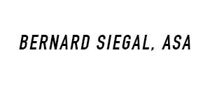 Bernard Siegal, ASA